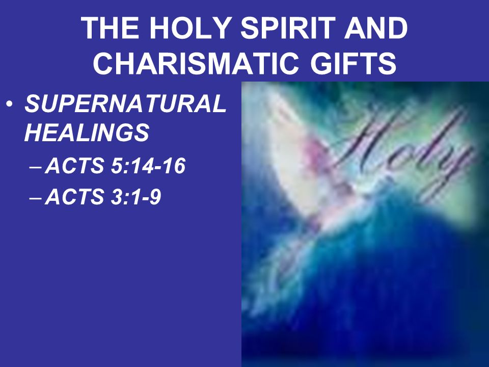 """the charismatic gifts We speak of """"charismatic gifts"""" because paul, in 1 corinthians 12, speaks of the charismata (the greek plural of charisma, meaning """"free and gracious gift"""")."""