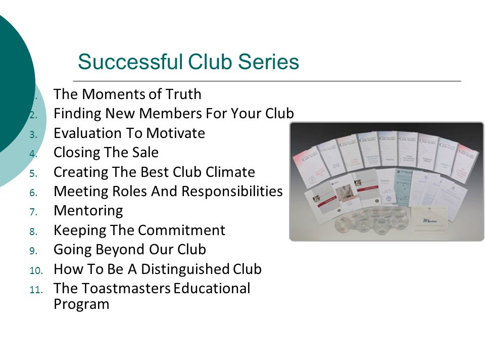 Successful Club Series