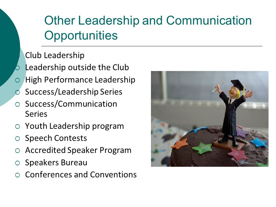 Other Leadership and Communication Opportunities