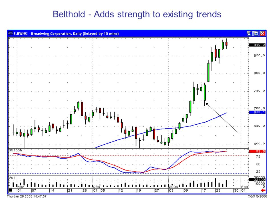 Belthold - Adds strength to existing trends