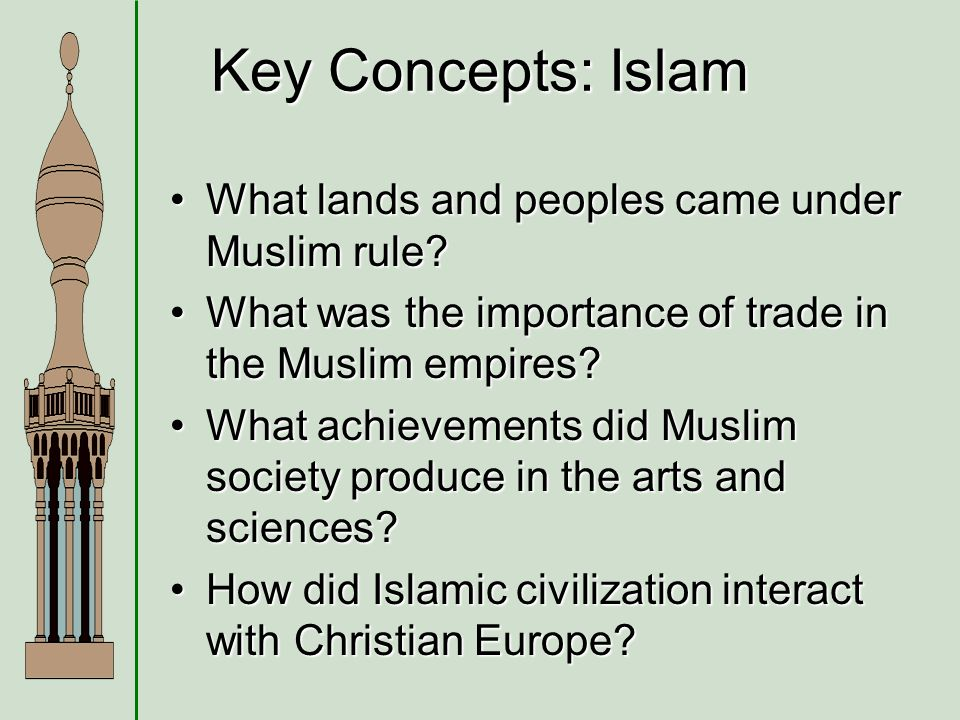 the importance and contributions of the muslim empires to european society