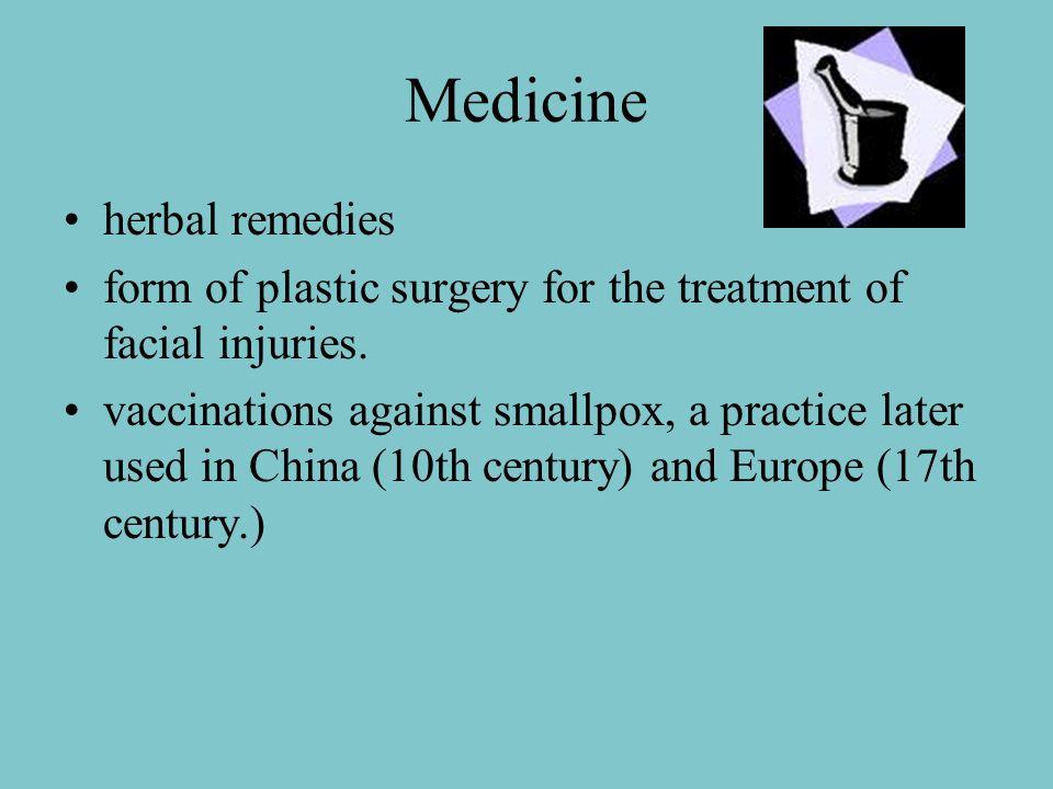Medicine herbal remedies