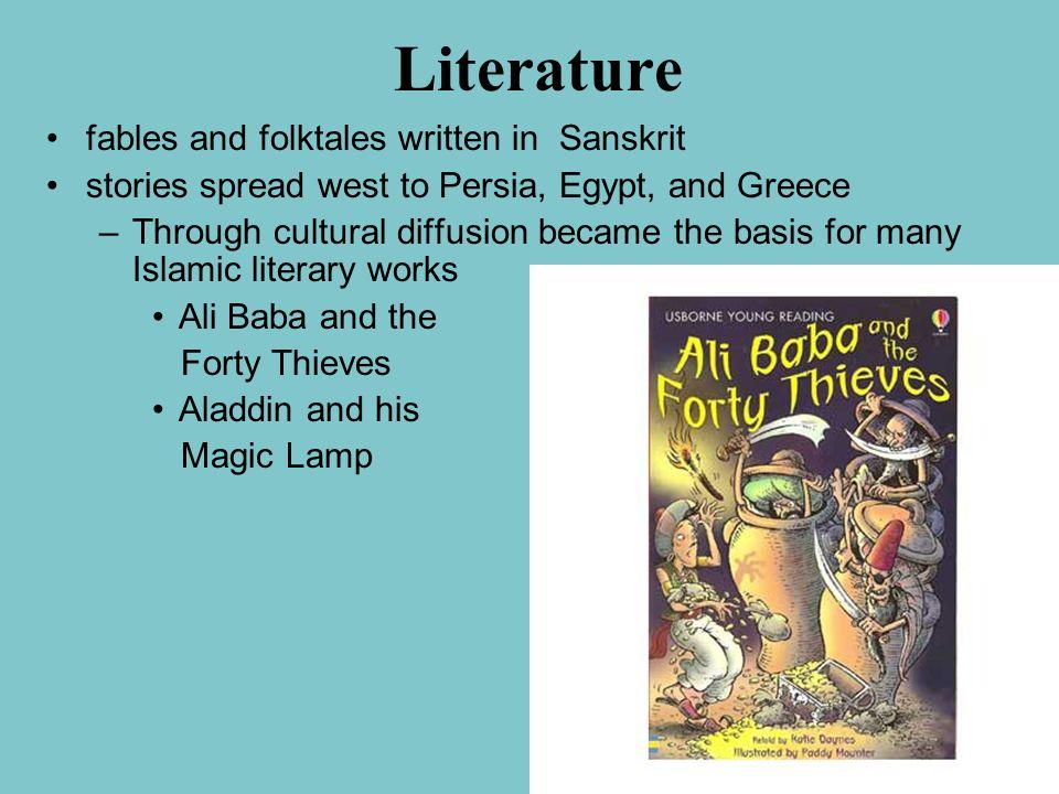 Literature fables and folktales written in Sanskrit
