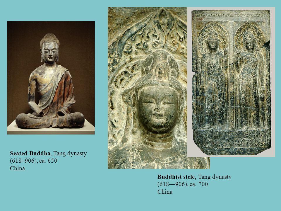 Seated Buddha, Tang dynasty (618–906), ca. 650 China
