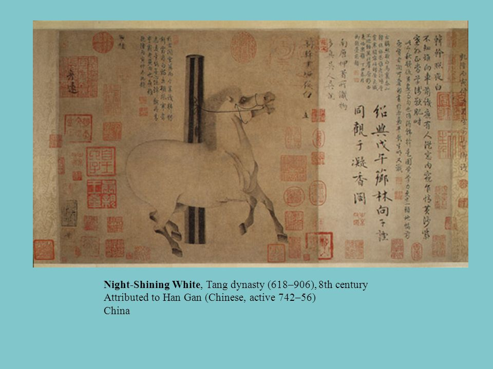Night-Shining White, Tang dynasty (618–906), 8th century Attributed to Han Gan (Chinese, active 742–56) China