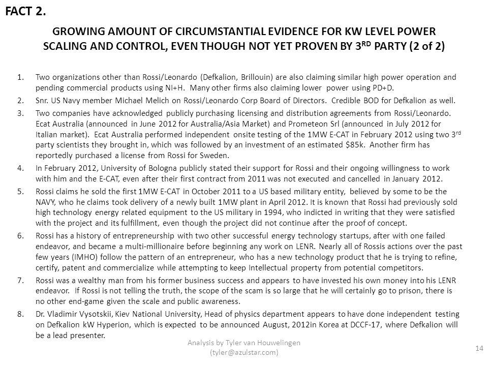 Analysis by Tyler van Houwelingen (tyler@azulstar.com)