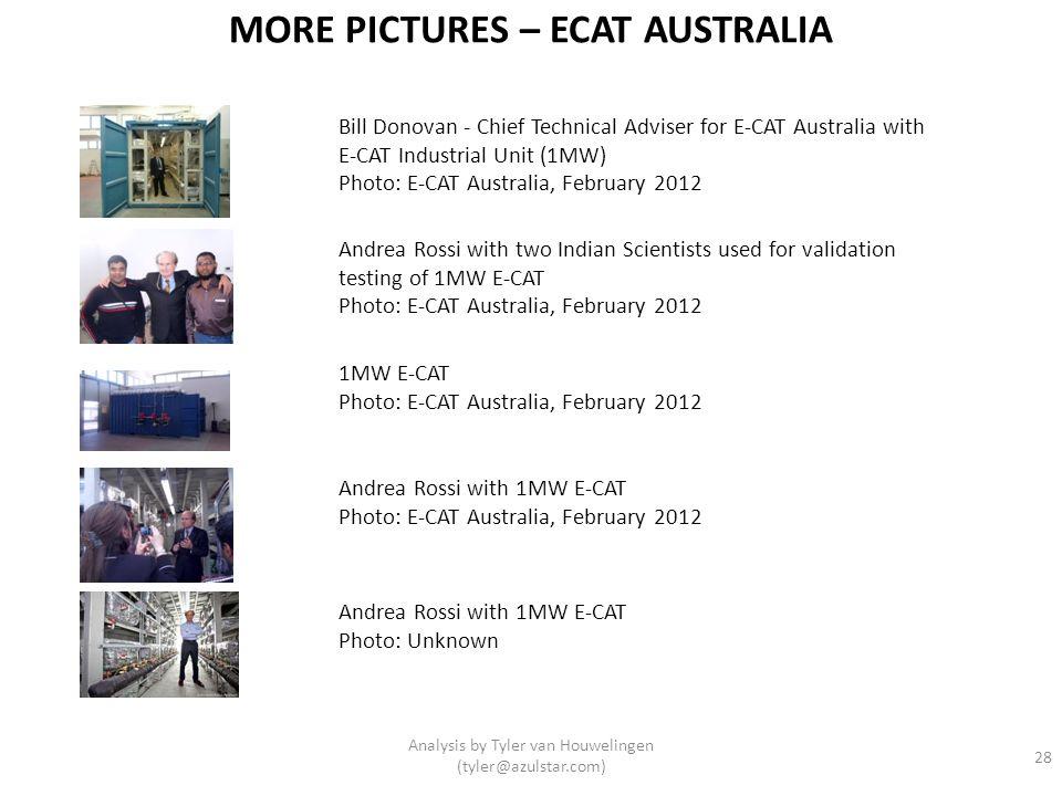 MORE PICTURES – ECAT AUSTRALIA