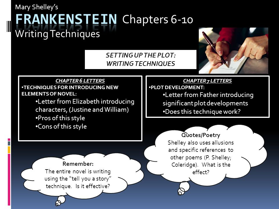 Letter  Of Frankenstein Quotes