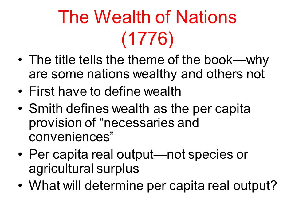 capitalism dominates the way how humans acquire goods and wealth 9 charts that explain the history of global wealth  expropriation of wealth in human history 6) the varieties of capitalism  income distribution earn a living the way most of us do.