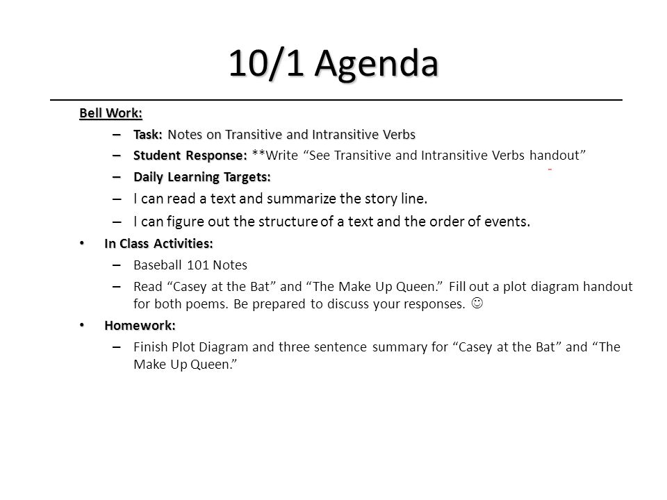 Language arts 2 daily agenda ppt download 22 101 ccuart Gallery