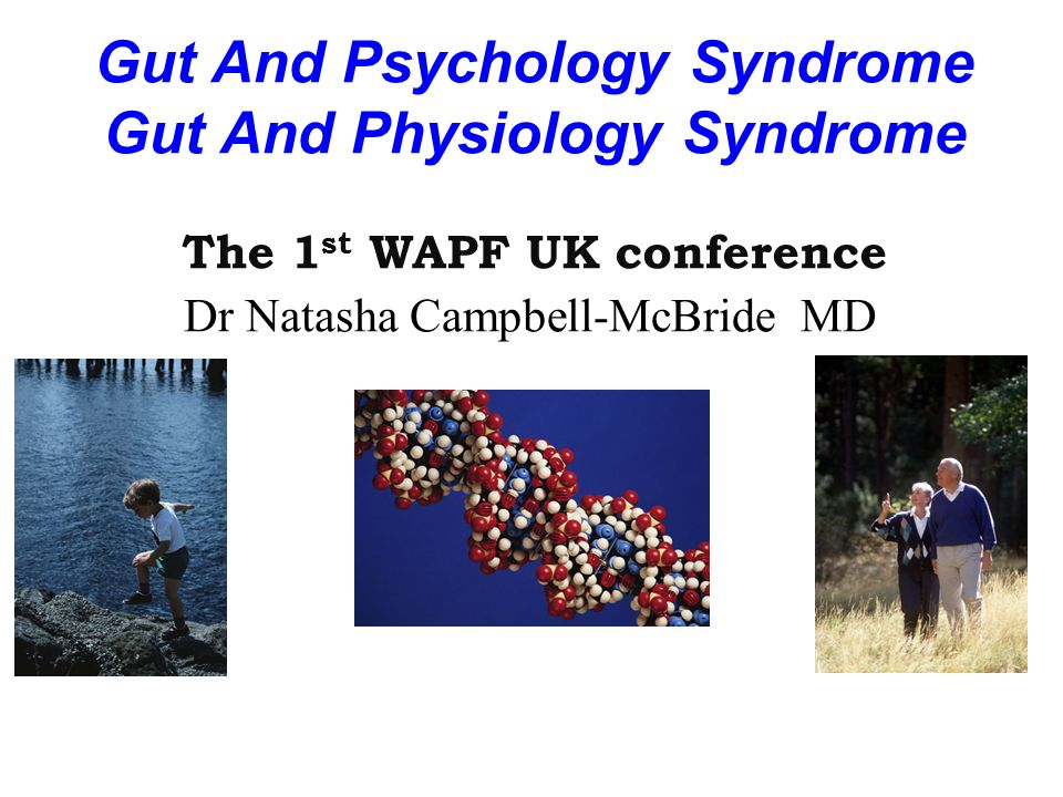 Gut And Psychology Syndrome Gut And Physiology Syndrome