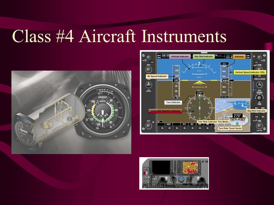 Class #4 Aircraft Instruments