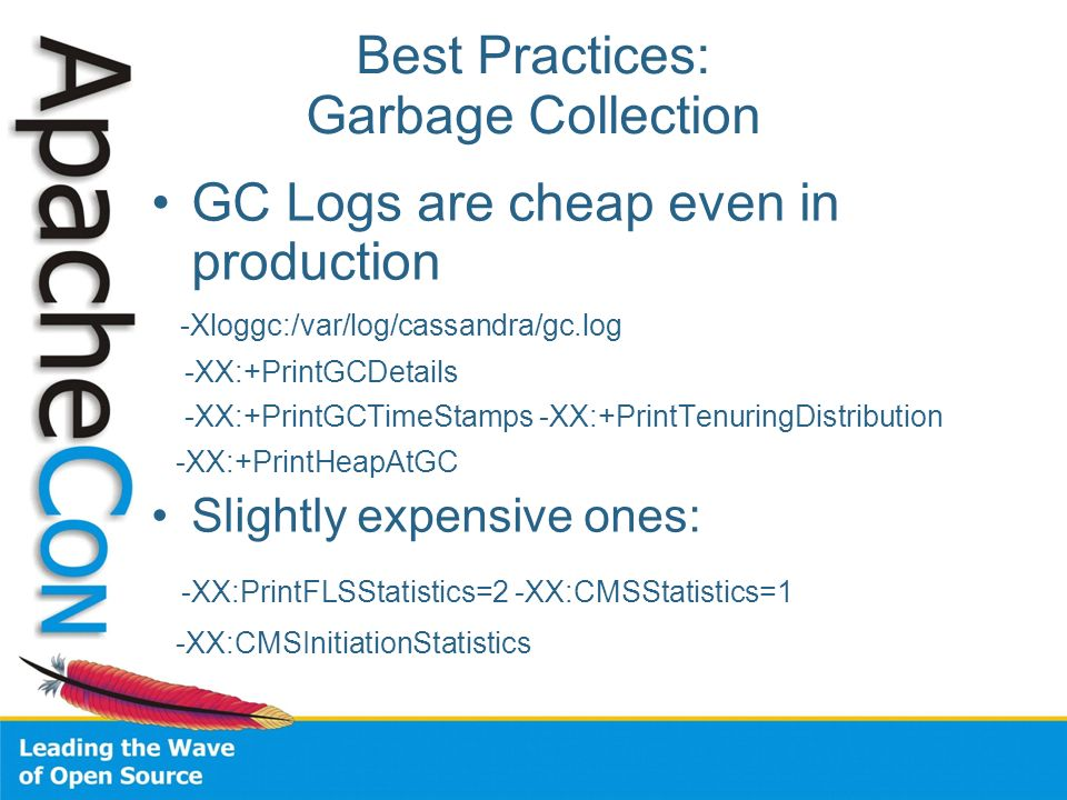Best Practices: Garbage Collection