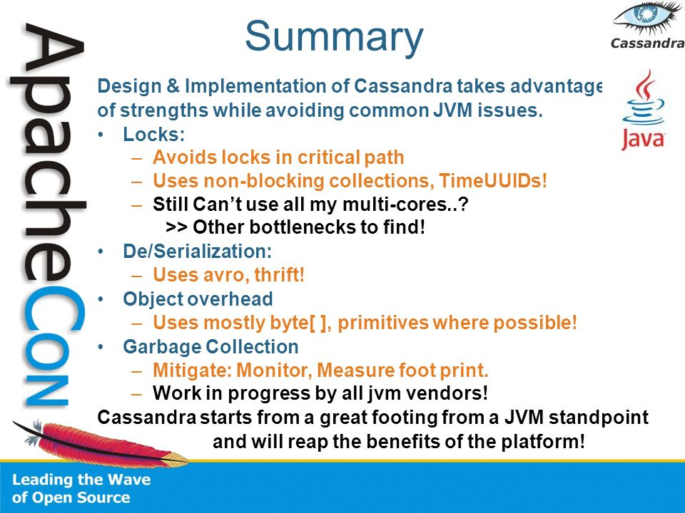 Summary Design & Implementation of Cassandra takes advantages