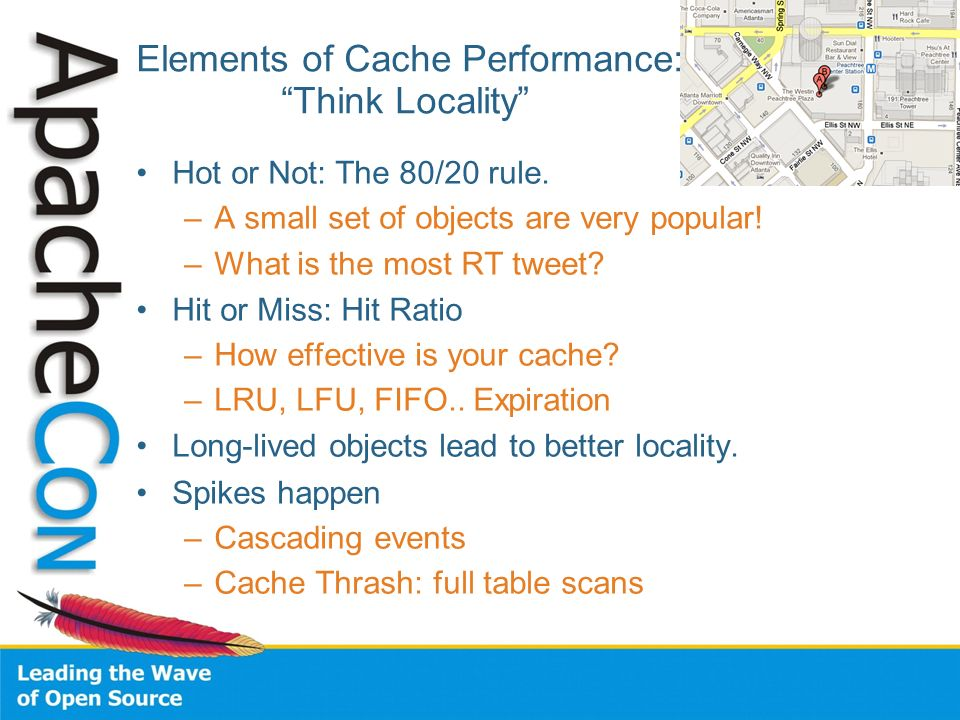Elements of Cache Performance: Think Locality