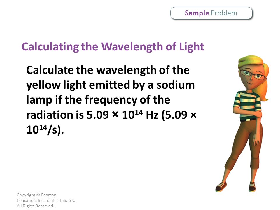 Calculating the Wavelength of Light