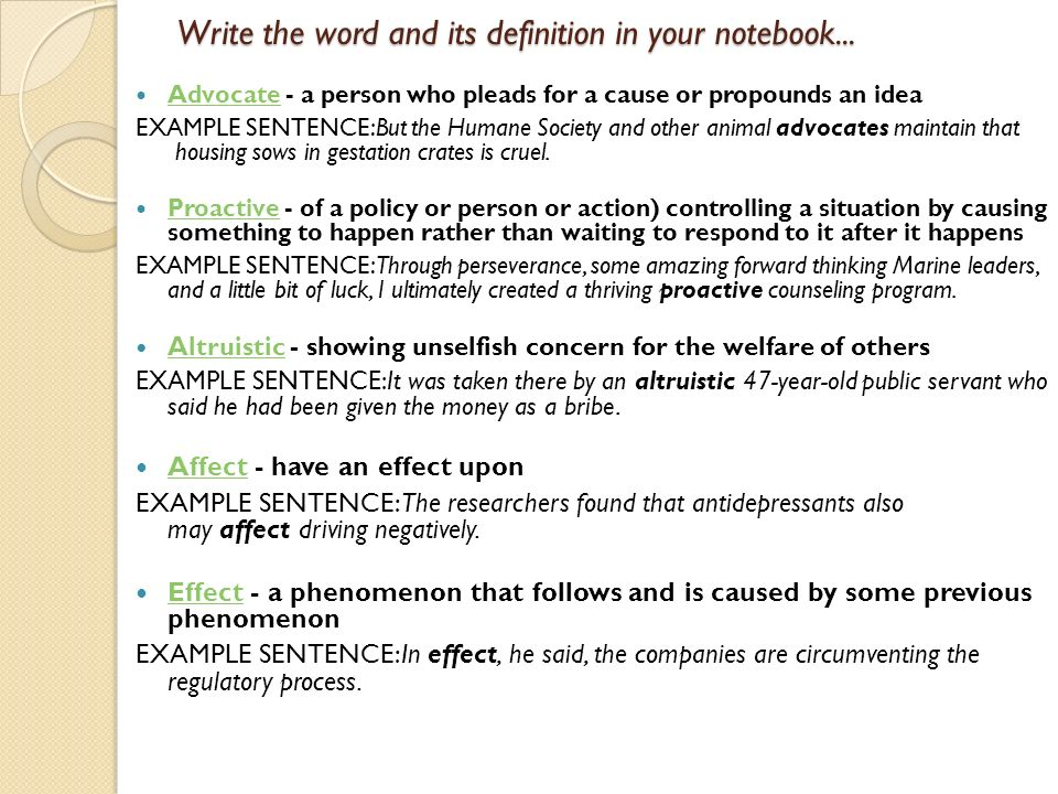 Here are the first ten words for your notebook ppt download