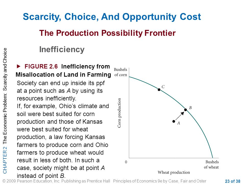 scarcity and opportunity cost of choices Motivation is the reason behind a specific explain the economic problem of scarcity define the concept of opportunity cost [3 marks.