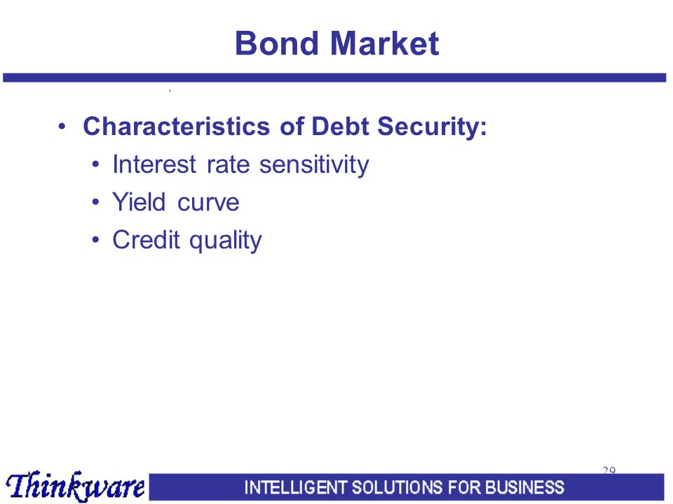 characteristic marketable securities Types of securities 1 shares a share is an equity security its owner owns one part of the capital of the company which has issued the shares in question.