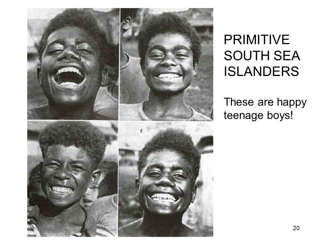 Primitive South Pacific Boys
