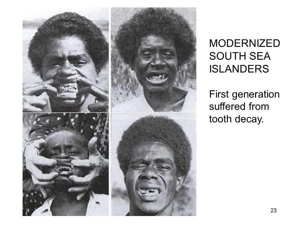 MODERNIZED SOUTH SEA ISLANDERS
