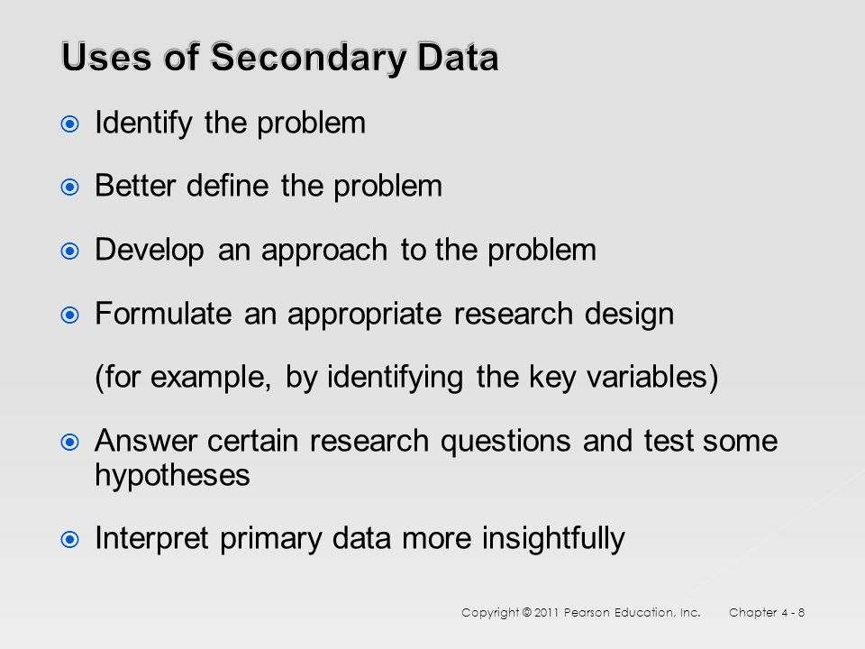 primary and secondary data pdf