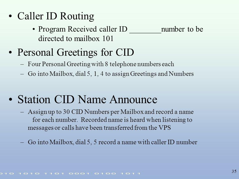Voice mail integration ppt download station cid name announce m4hsunfo