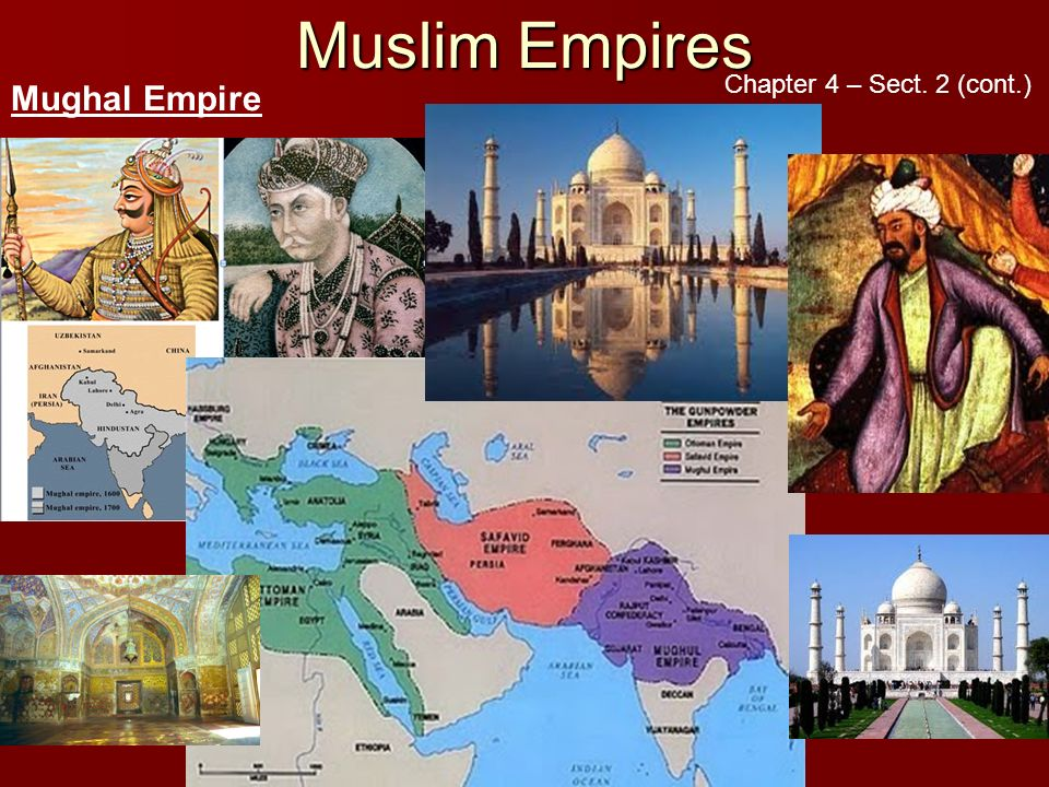 chapter 28 the islamic empires Empire in 1453 makes 1450 a good starting point for the islamic empires.