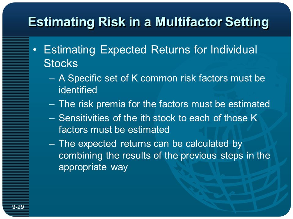 common risk factors in the returns This paper adopts the fama and french (1993) methodology for determining the common risk factors in the returns of canadian stocks our results suggest that the three stock market factors, the excess stock market returns, a size factor, and a book-to-market equity factor, explain most of the .