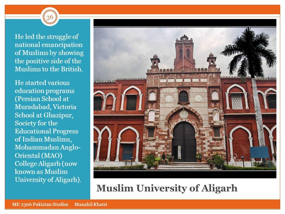Muslim University of Aligarh