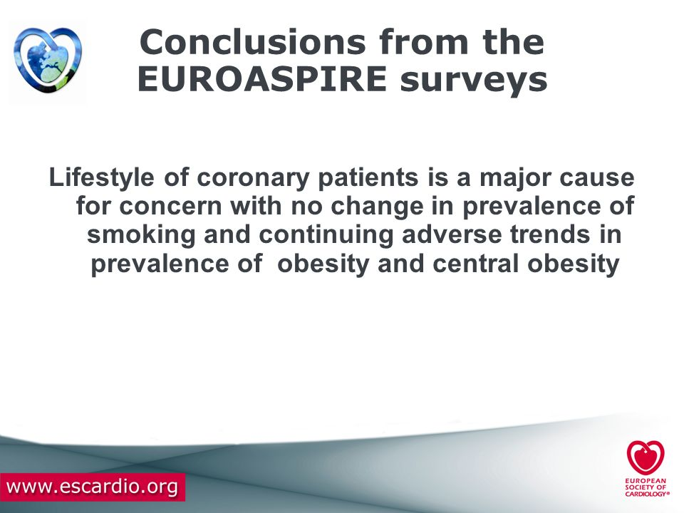 Conclusions from the EUROASPIRE surveys