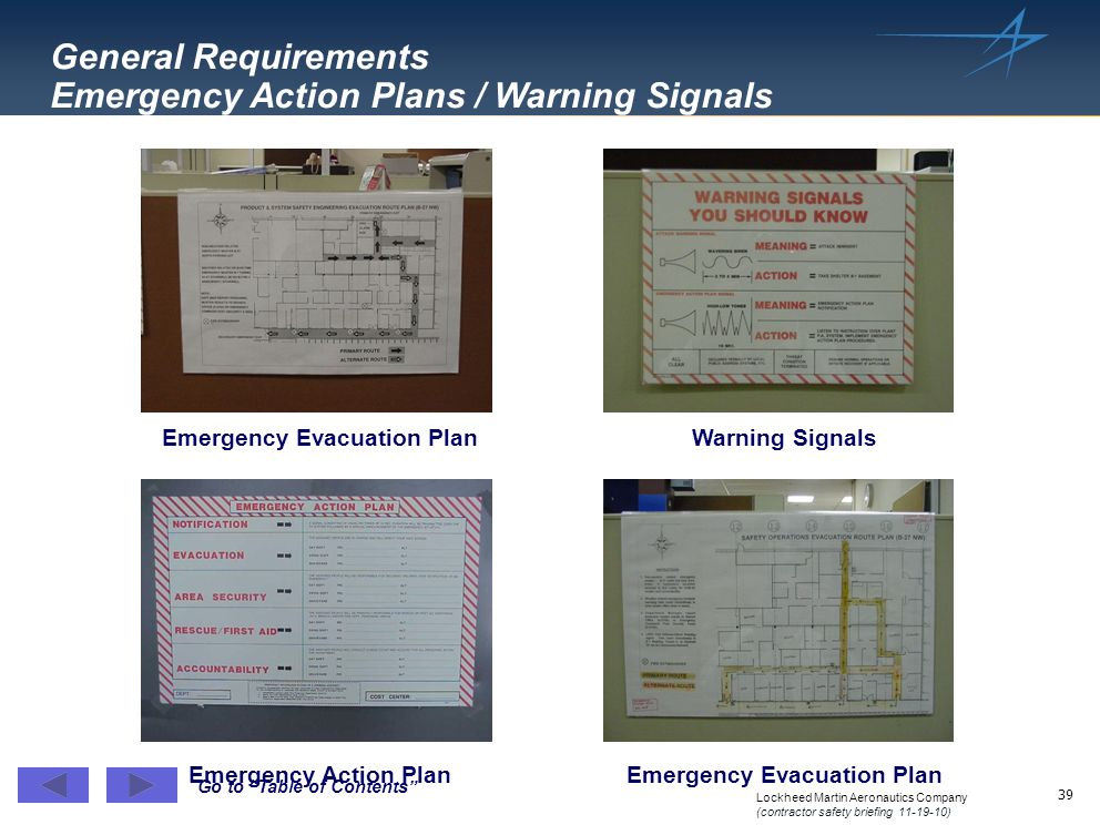 Emergency Evacuation Plan Emergency Evacuation Plan