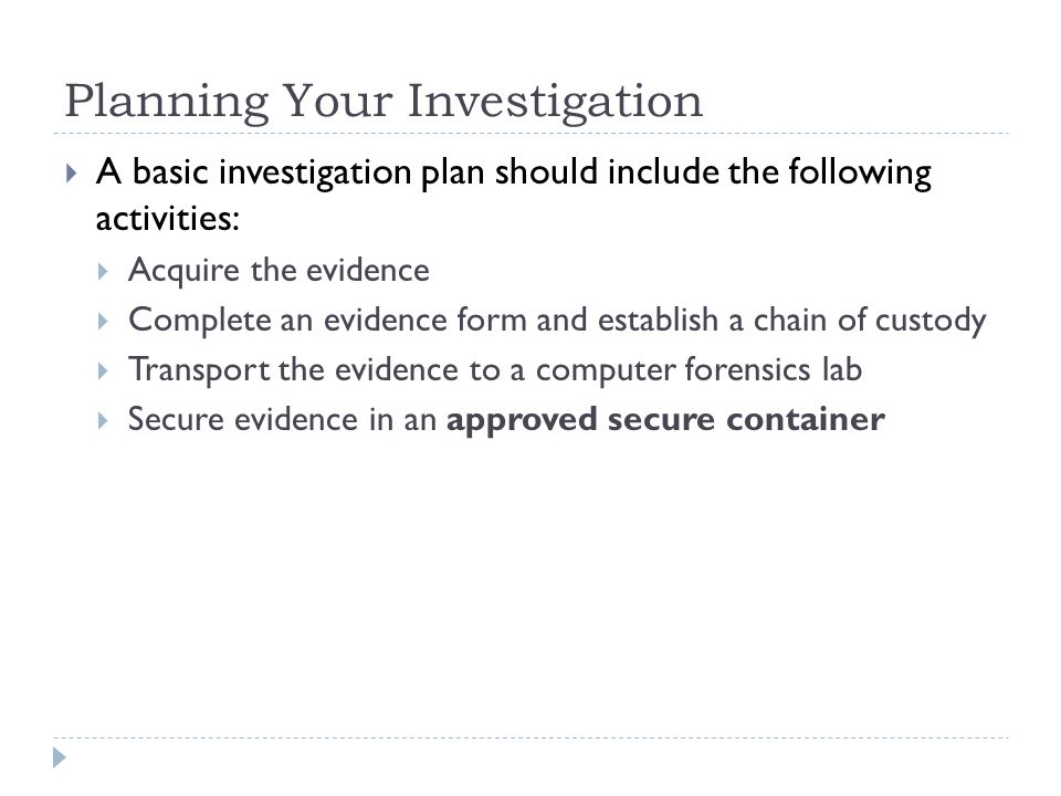Classroom Design Should Follow Evidence ~ Guide to computer forensics and investigations fourth