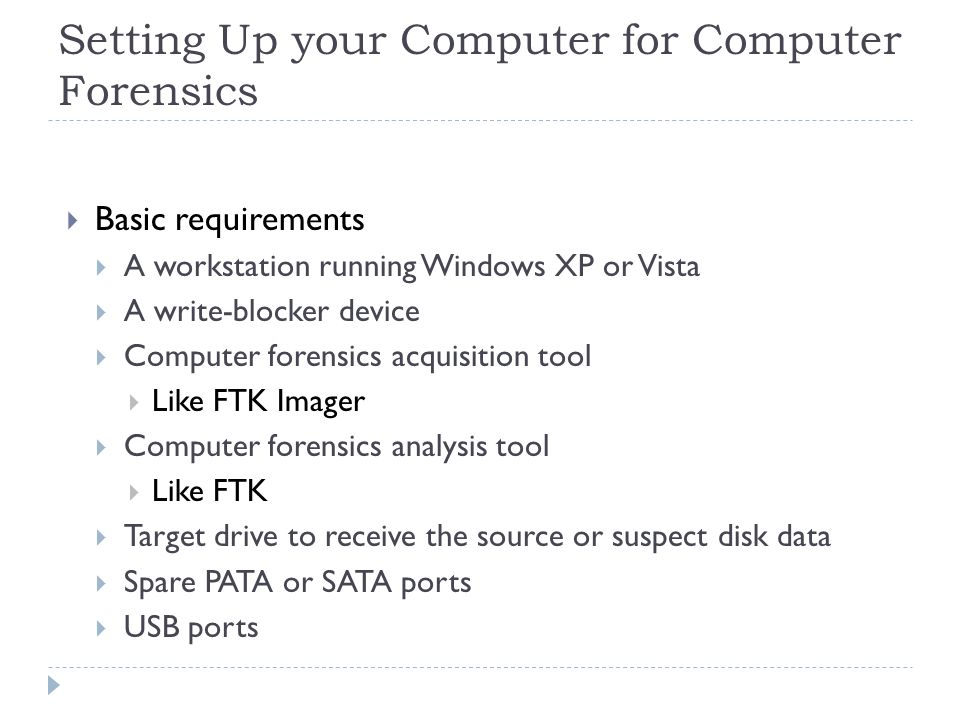Example of An Expert Witness Digital forensics Report