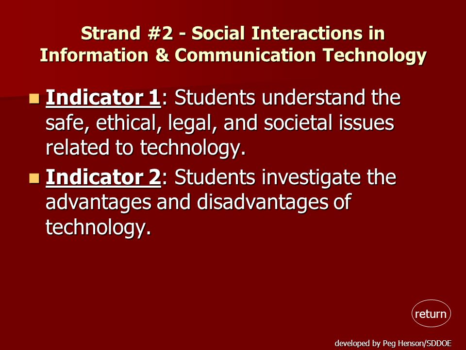 Strand #2 - Social Interactions in Information & Communication Technology