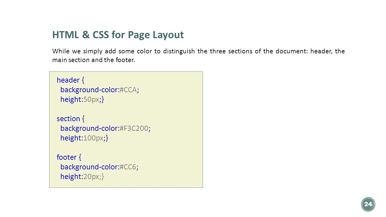 Bit116 scripting lecture 02 part 2 ppt download for Css page color