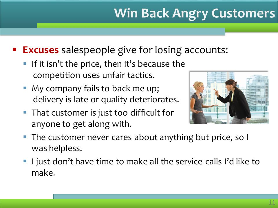 how to win back a dissatisfied customer