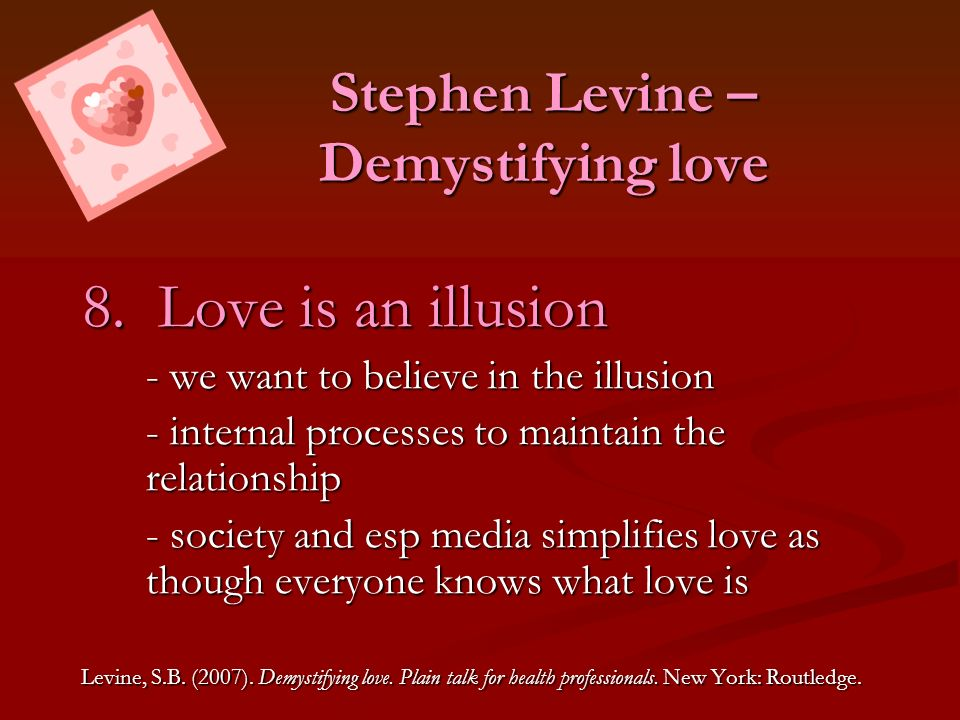 Stephen Levine – Demystifying love
