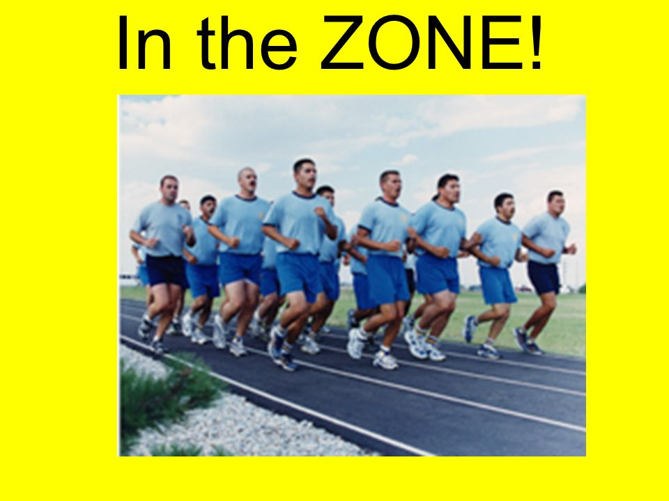 In the ZONE! This will be you next class, Cardio is going to be every day for at least min