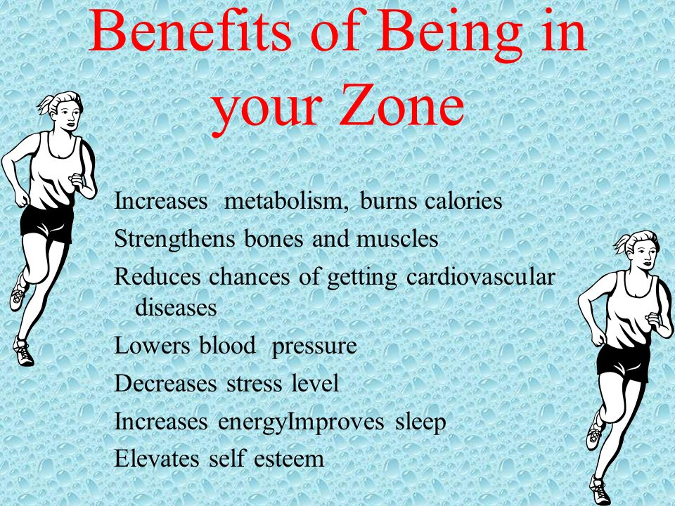 Benefits of Being in your Zone