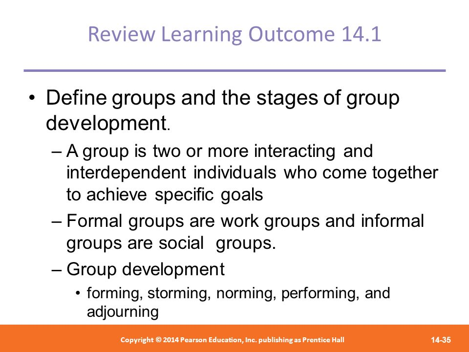 Review Learning Outcome 14.1