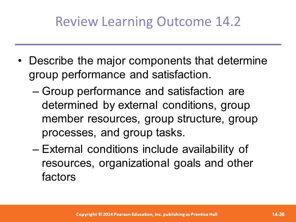 Review Learning Outcome 14.2