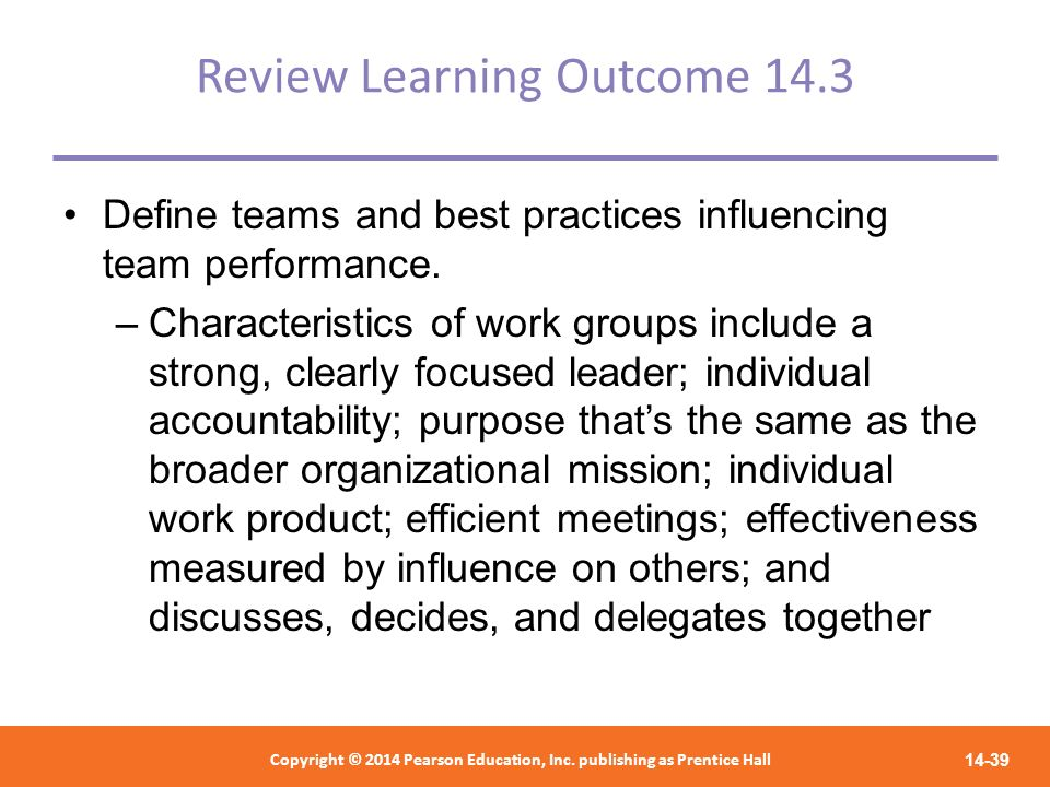 Review Learning Outcome 14.3