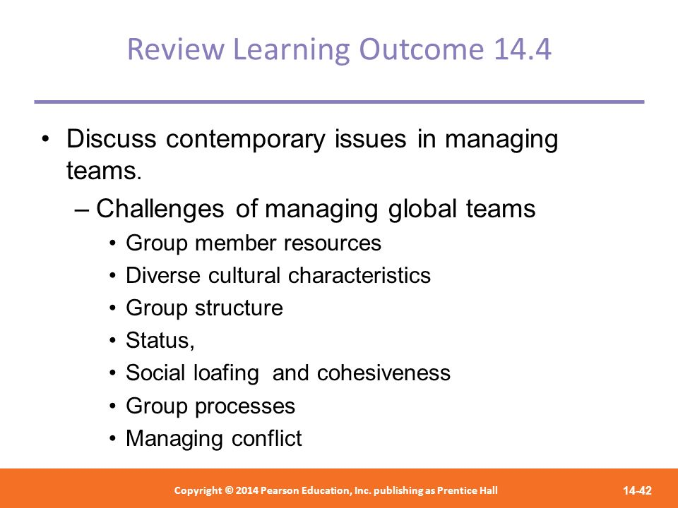 Review Learning Outcome 14.4