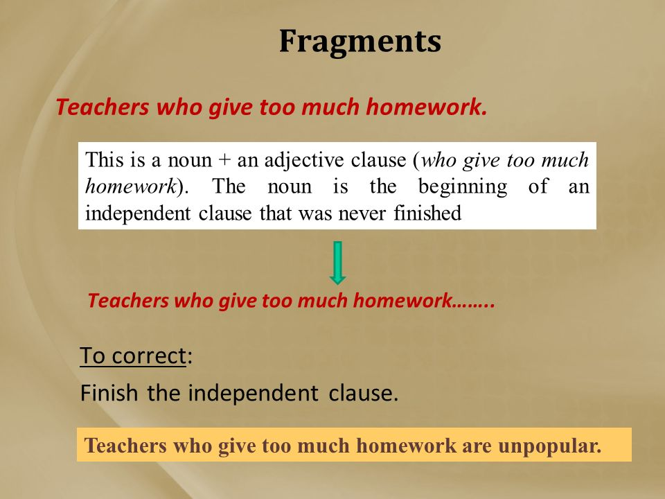 teachers give too much homework essay Teachers parents students  we do not have a 'too much homework' problem  too much homework seems like a luxury problem of the sliver of the population .