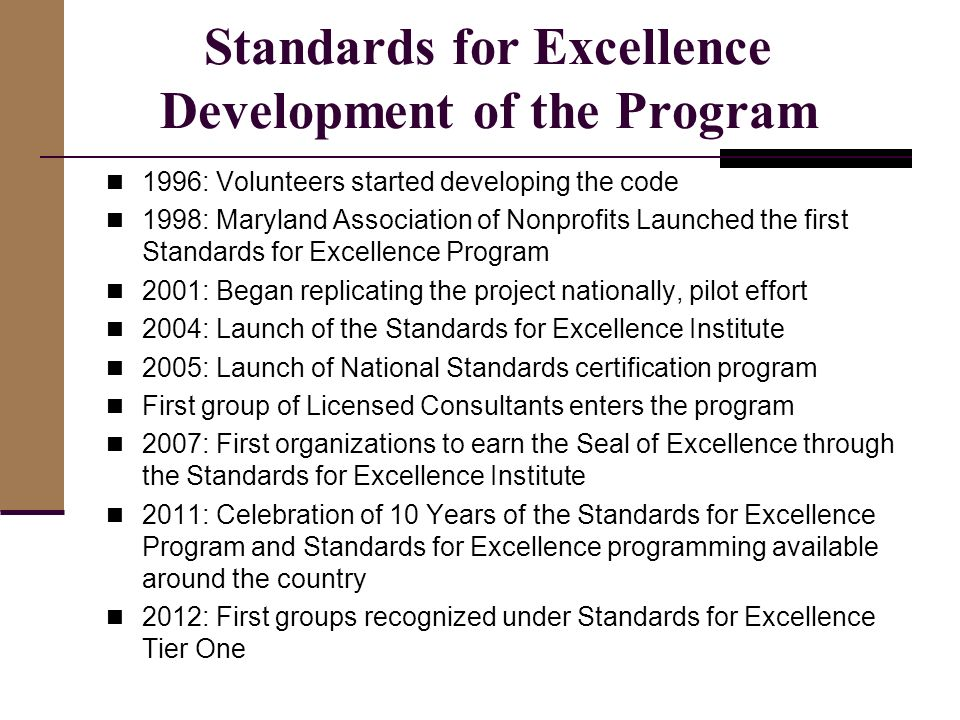 Pass to Excellence Program Description: - ppt download