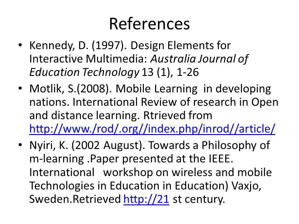 technology in education research paper How can the answer be improved.