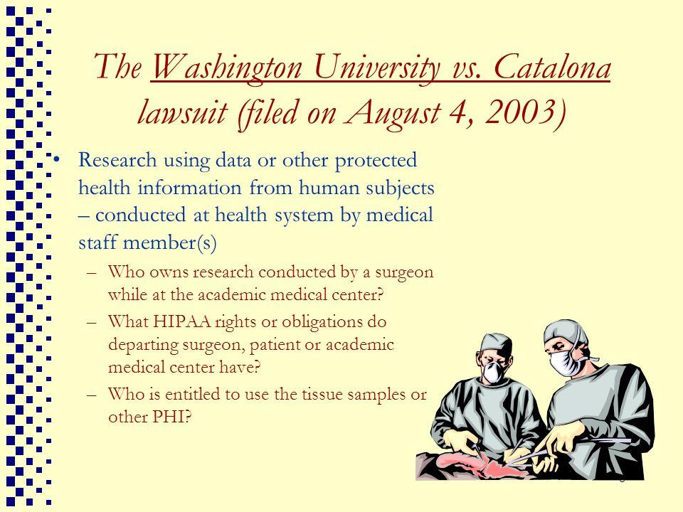 The Washington University vs