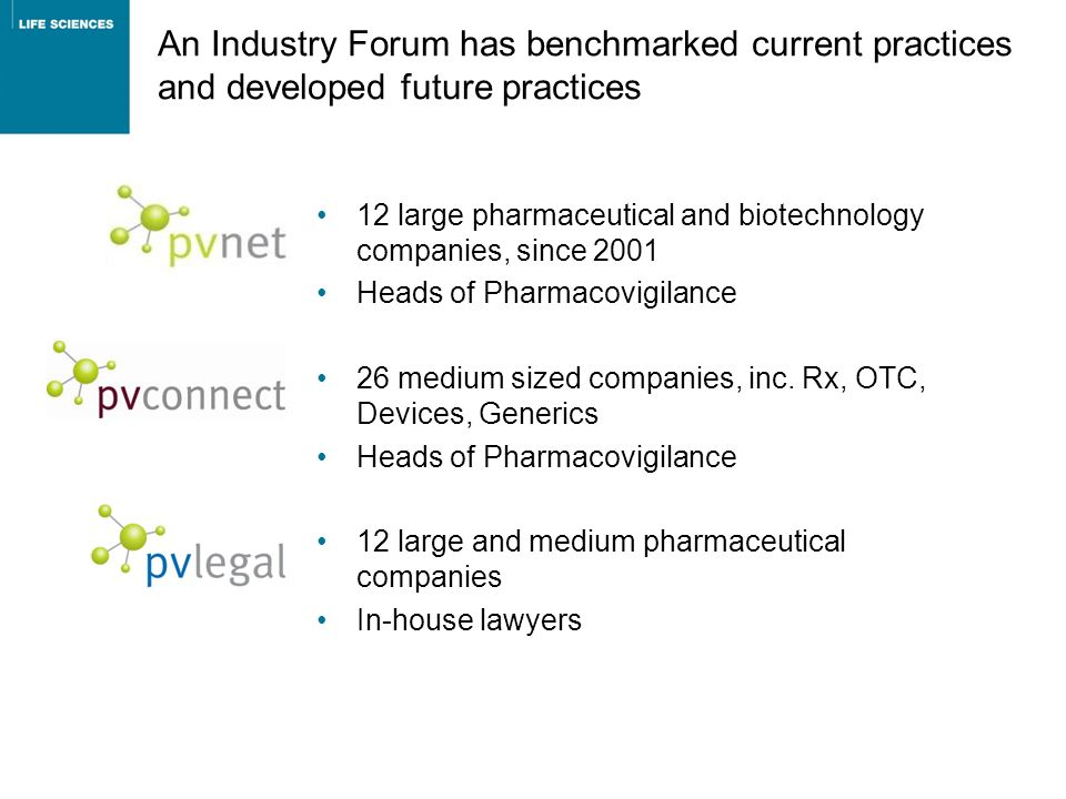 An Industry Forum has benchmarked current practices and developed future practices