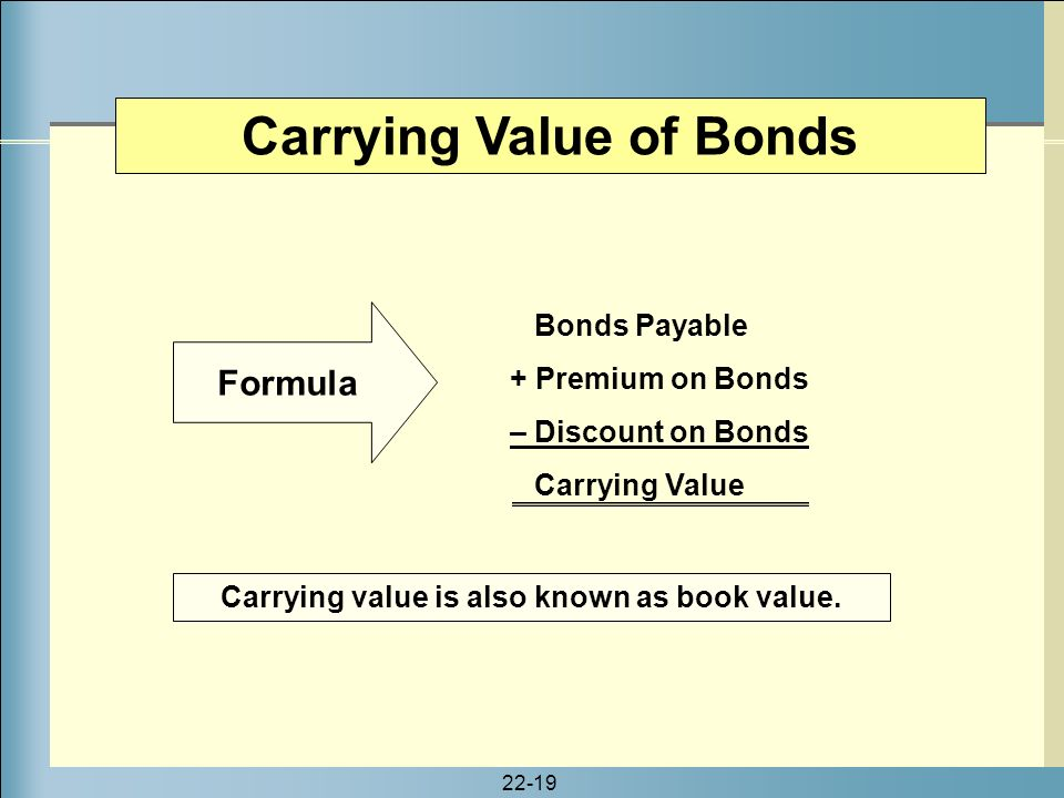 Carrying amount of bonds yeniscale carrying amount of bonds fandeluxe Image collections